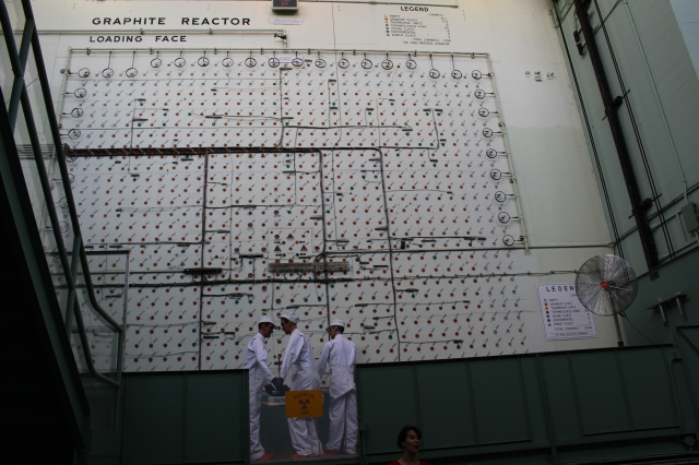 Graphite Reactor - Where plutonium was first made successfully in 1943 (with maniquins to display how it would have looked)