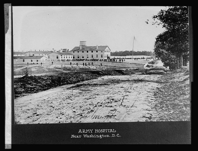 Army Hospital, Washington D.C. (1861-1865) https://www.loc.gov/item/npc2008010887/
